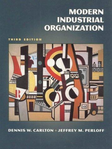 9780321045454: Modern Industrial Organization