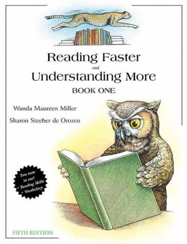 9780321045843: Reading Faster and Understanding More, Book 1 (5th Edition)