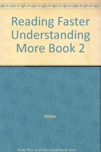 Reading Faster Understanding More Book 2