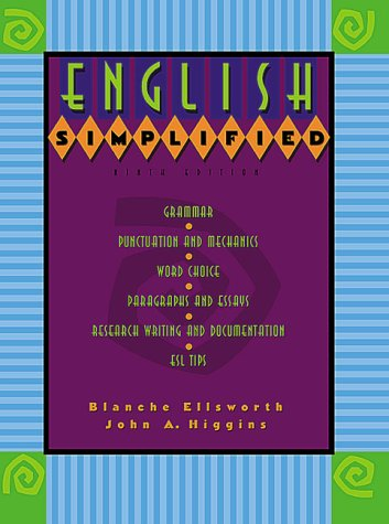 9780321045980: English Simplified (9th Edition)