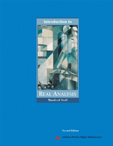9780321046253: Stoll, M: Introduction to Real Analysis (Featured Titles for Real Analysis)