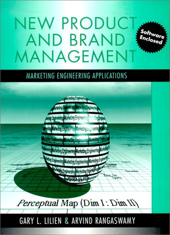 9780321046444: New product and brand management: Marketing engineering applications