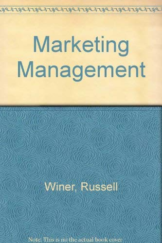 9780321046567: Marketing Management