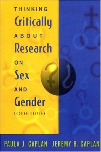 9780321049292: Thinking Critically about Research on Sex and Gender (2nd Edition)