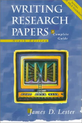 9780321049803: Writing Research Papers: A Complete Guide