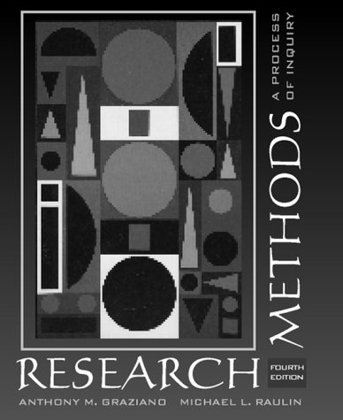 9780321049933: Research Methods: A Process of Inquiry (4th Edition)