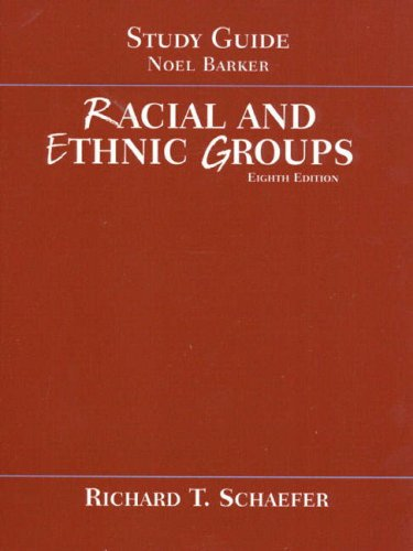 9780321050281: Study Guide to accompany Racial and Ethnic Groups, 8th Edition