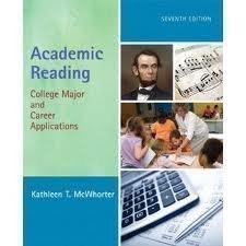9780321051127: Academic Reading