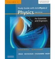 9780321051479: Study Guide with Activphysics 2: Physics with Modern Physics for Scientists and Engineers, Vol. 2