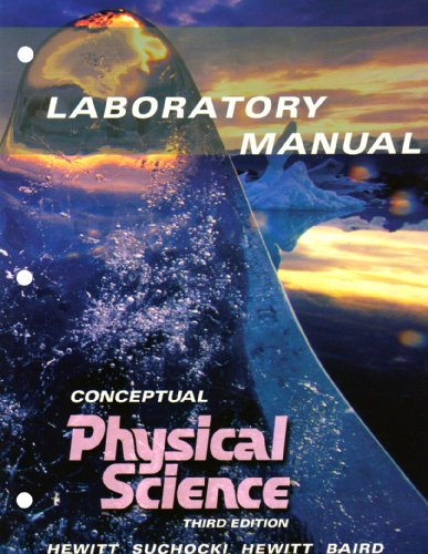 9780321051806: Conceptual Physical Science Laboratory Manual