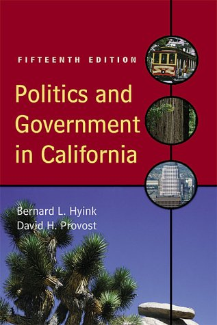 9780321052681: Politics and Government in California (15th Edition)
