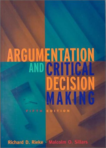 9780321055637: Argumentation and Critical Decision Making (5th Edition)