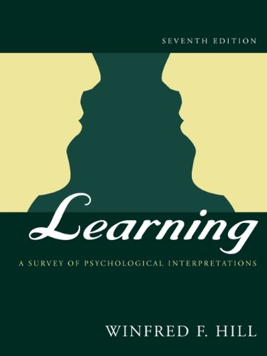 9780321056764: Learning: A Survey of Psychological Interpretations (7th Edition)