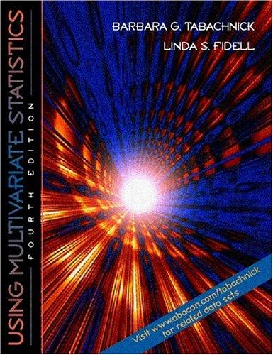 9780321056771: Using Multivariate Statistics 4th edition