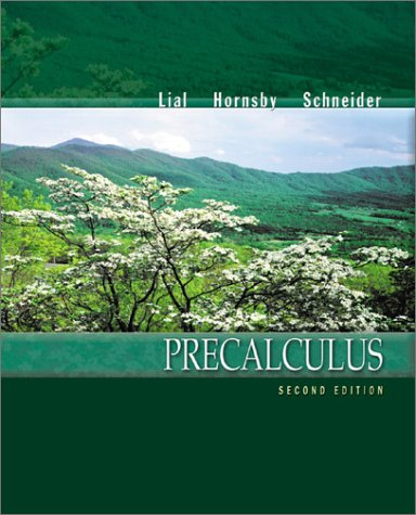 9780321057648: Precalculus (2nd Edition)