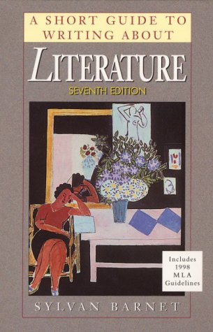 9780321057938: Short Guide to Writing About Literature Revised