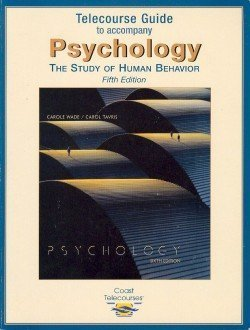 9780321059574: Psychology: The Study of Human Behavior (Telecourse Guide)