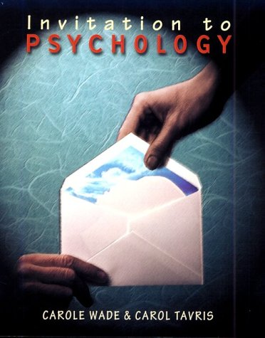 9780321060464: Invitation to Psychology