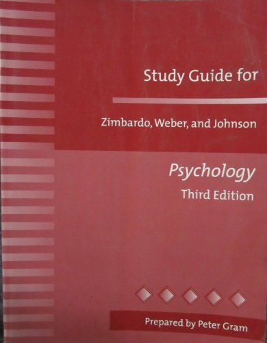 9780321060518: Study Guide for Psychology