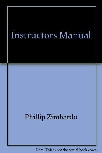 9780321060532: Instructors Manual