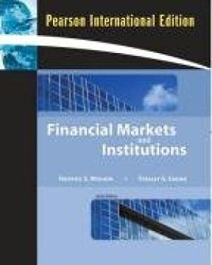 9780321060730: Test bank to accompany Frederic S. Mishkin / Stanley G. Eakins, Financial markets and institutions, third edition