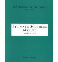 9780321062000: Intermediate Algebra