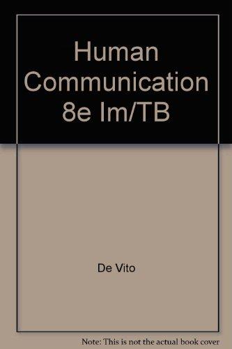 9780321063083: Human Communication 8e Im/Tb
