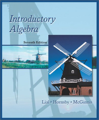 9780321064585: Introductory Algebra (7th Edition)
