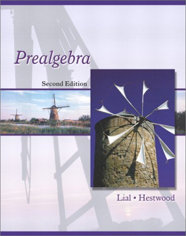 9780321064608: Prealgebra (2nd Edition)