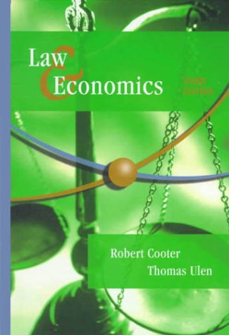 9780321064820: Law and Economics (3rd Edition)