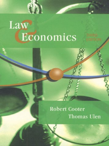 9780321064820: Law and Economics (The Addison-Wesley series in economics)
