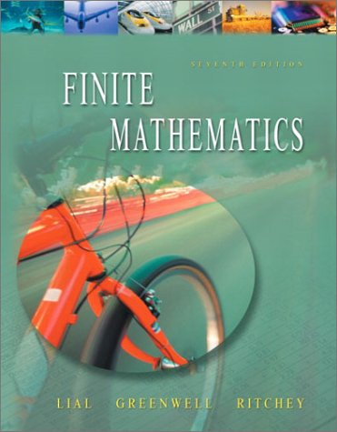 9780321067142: Finite Mathematics (7th Edition)