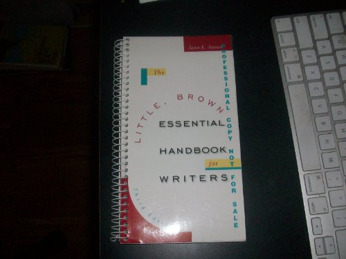 9780321067463: The Little, Brown Essential Handbook for Writers.