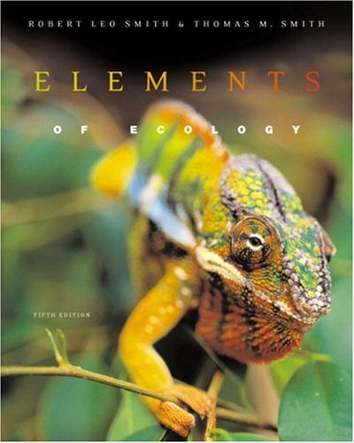 9780321068781: Elements of Ecology (5th Edition)