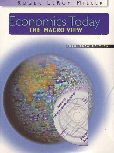9780321068927: Economics Today: The Macro View (1999-2000 Edition)