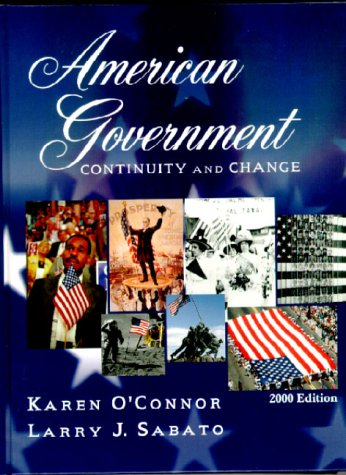 9780321070333: American Government: Continuity and Change, 2000 Edition, Hardcover
