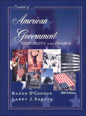 9780321070357: Essentials of American Government: Continuity and Change : 2000 Edition