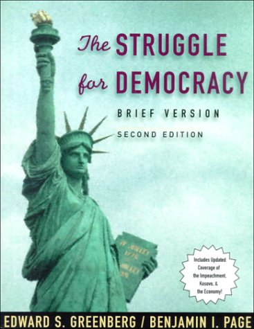 9780321070401: The Struggle for Democracy: Brief Version