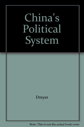 9780321070548: China's Political System