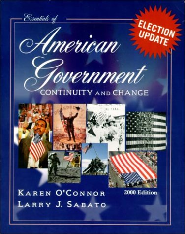 9780321070722: The Essentials of American Government, 2000: Continuity and Change
