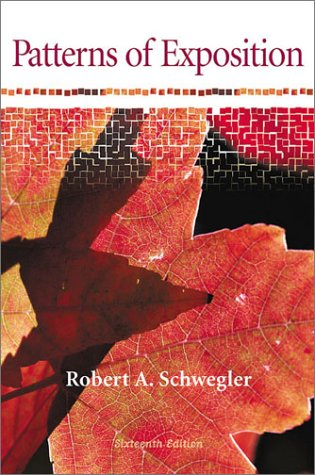9780321072429: Patterns of Exposition (16th Edition)