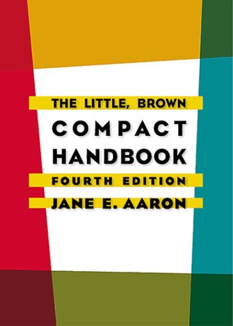 9780321075093: The Little, Brown Compact Handbook (4th Edition)