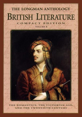 The Longman Compact Anthology of British Literature: Damrosch, David, Baswell,