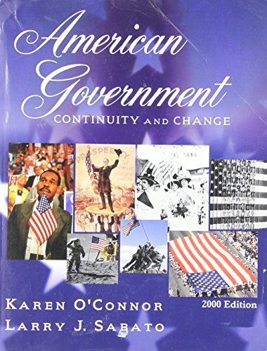 9780321076892: American Government: Continuity and Change