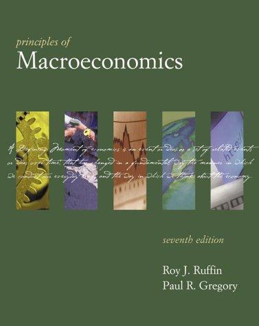 9780321077325: Principles of Macroeconomics (7th Edition) (The Addison-Wesley Series in Economics)