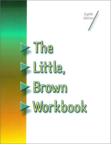 9780321077769: The Little Brown Workbook (8th Edition)