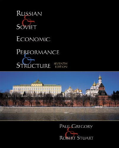 9780321078162: Russian and Soviet Economic Performance and Structure (7th Edition)