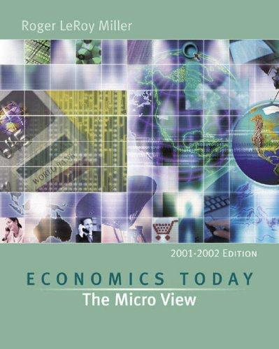9780321078186: Economics Today: The Micro View (Series in Economics)