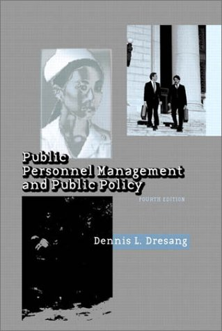 9780321078407: Public Personnel Management and Public Policy