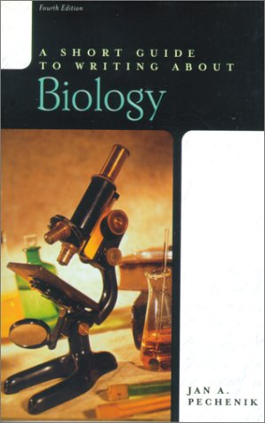 9780321078438: A Short Guide to Writing about Biology (4th Edition)